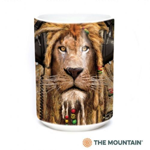 DJ Jahman Lion Ceramic Mug | The Mountain®